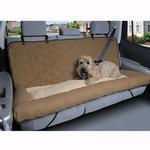 View Image 2 of Car Cuddler Dog Seat Cover - Brown