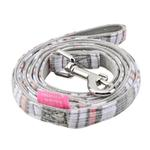 View Image 1 of Cara Dog Leash by Pinkaholic - Grey