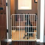View Image 2 of Carlson Tuffy Expandable Dog Gate with Small Pet Door