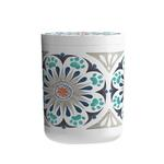 View Image 1 of Carmel Medallion Pet Treat Jar by TarHong - Grey