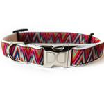 View Image 2 of Ziggy Dog Collar and Leash Set by Diva Dog