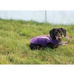 View Image 3 of Cascade Dog Coat - Plum Purple