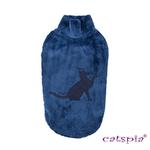 View Image 1 of Castor Cat Sweater by Catspia - Navy