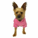 View Image 2 of Casual Canine Basic Dog Hoodie - Pink