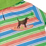 View Image 3 of Casual Canine Hawaiian Breeze Polo Dog Shirt with UPF 40