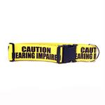 View Image 1 of Caution Dog Collar by Yellow Dog - Hearing Impaired