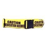 View Image 1 of Caution Dog Collar by Yellow Dog - Medication Needed