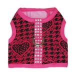 View Image 1 of Celina Dog Harness - Pink and Black