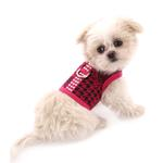 View Image 3 of Celina Dog Harness - Pink and Black