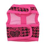 View Image 2 of Celina Dog Harness - Pink and Black