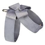 View Image 2 of Platinum Glitzerati Nouveau Bow Tinkie Dog Harness by Susan Lanci - Platinum
