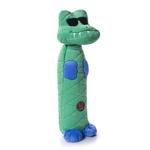 View Image 1 of Charming Bottle Bros Durable Dog Toy - Gator