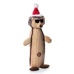 View Image 1 of Charming Christmas Bottle Bros Durable Dog Toy - Hedgehog