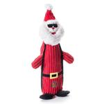 View Image 1 of Charming Christmas Bottle Bros Durable Dog Toy - Santa