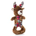View Image 1 of Charming Christmas Polar Patches Durable Dog Toy - Reindeer