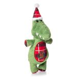 View Image 1 of Charming Christmas Snow Bums Durable Dog Toy - Gator