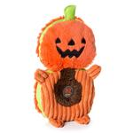 View Image 1 of Charming Halloween Puzzlers Durable Dog Toy - Pumpkin
