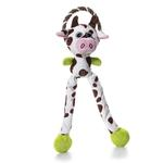 View Image 1 of Charming Thunda Blasters Dog Toy - Leggy Cow