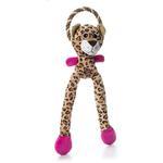 View Image 1 of Charming Thunda Blasters Dog Toy - Leggy Leopard