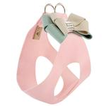 View Image 1 of Hope Bow Step-In Dog Harness by Susan Lanci - Puppy Pink