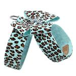 View Image 2 of Cheetah Couture Nouveau Bow Tinkie Dog Harness by Susan Lanci - Tiffi Cheetah
