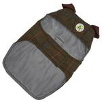 View Image 2 of Green Tweed Dog Coat by Up Country