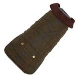 View Image 1 of Green Tweed Dog Coat by Up Country