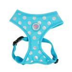 View Image 1 of Chic Adjustable Dog Harness by Pinkaholic - Blue