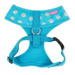View Image 2 of Chic Adjustable Dog Harness by Pinkaholic - Blue