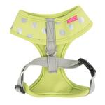 View Image 3 of Chic Adjustable Dog Harness by Pinkaholic - Lime