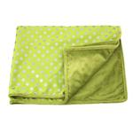 View Image 2 of Chic Dog Blanket by Pinkaholic - Lime