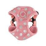 View Image 1 of Chic Step-In Adjustable Dog Harness by Pinkaholic - Pink
