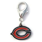 View Image 1 of Chicago Bears Logo Dog Collar Charm