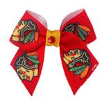 View Image 1 of Chicago Blackhawks Dog Hair Bow