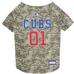 View Image 1 of Chicago Cubs Dog Jersey - Camo