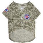 View Image 2 of Chicago Cubs Dog Jersey - Camo