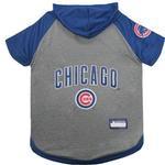 View Image 1 of Chicago Cubs Hooded Dog T-Shirt