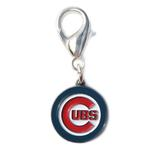 View Image 1 of Chicago Cubs Logo Dog Collar Charm