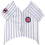 View Image 2 of Chicago Cubs Officially Licensed Dog Jersey - Pinstripe