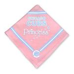 View Image 1 of Chicago Cubs Pink Dog Bandana