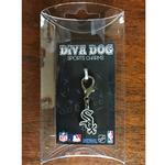 View Image 2 of Chicago White Sox Logo Dog Collar Charm