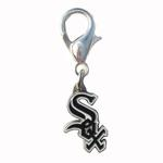 View Image 1 of Chicago White Sox Logo Dog Collar Charm
