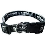 View Image 1 of Chicago White Sox Officially Licensed Ribbon Dog Collar