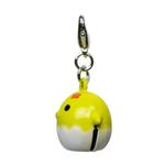 View Image 2 of Chicklet Jingle Bell Dog Collar Charm by Klippo - Yellow