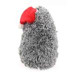View Image 6 of Christmas Hedgehog Dog Toy with Hat