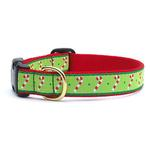 View Image 1 of Candy Cane Dog Collar by Up Country