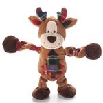 View Image 1 of Christmas Reindeer Pulleez Dog Toy