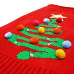 View Image 5 of Christmas Tree Dog Sweater by Dogo