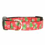 View Image 1 of Christmas Trees Nylon Dog Collar