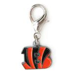 View Image 1 of Cincinnati Bengals Logo Dog Collar Charm